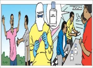Ebola threatening relationships, social institutions